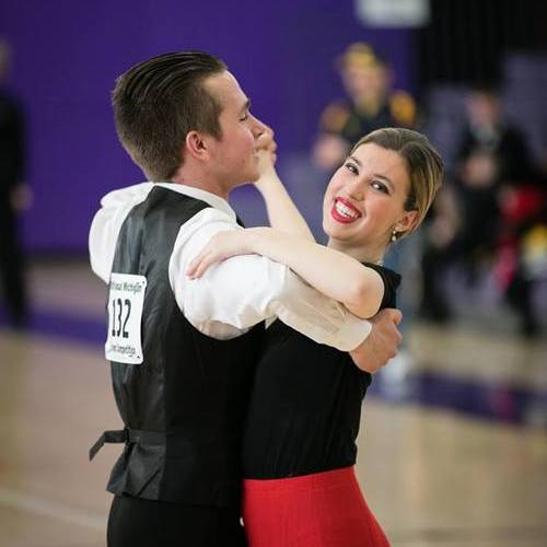Photo of Claire Lacey, The Ballroom Dance Club's Team Outreach
